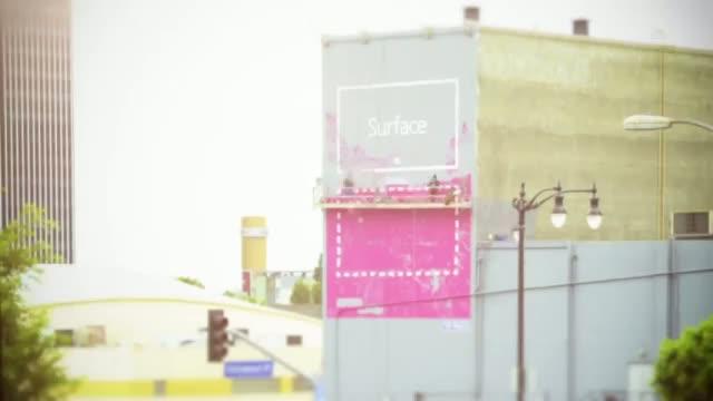 Microsoft Surface Commercial Ad