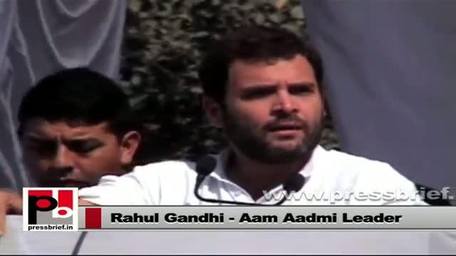 Rahul Gandhi slams BJP for blocking UPA's welfare policies