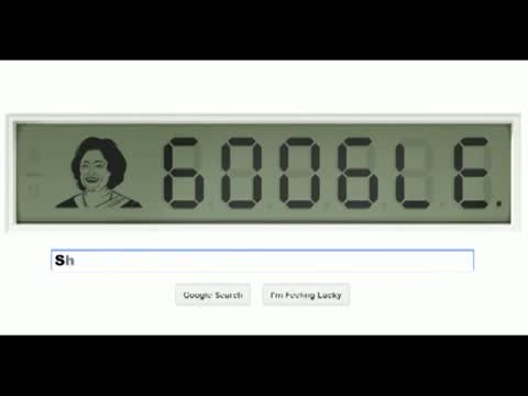 Shakuntala Devi's 84th birthday doodle | New google doodle