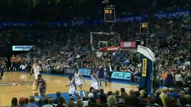 NBA: Reggie Jackson With The SWAT