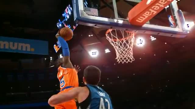 NBA: Tim Hardaway Jr's Dunk Over Love In Slow-Mo