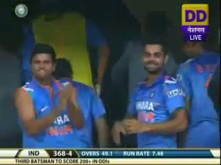 Rohit Sharma 200 vs Australia at Bangalore, Nov 2, 2013
