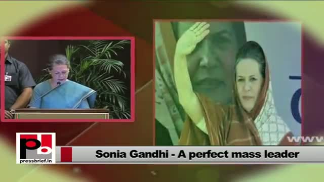 Sonia Gandhi: The people have played a great role in building modern India