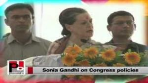 Sonia Gandhi in Raebareli: Congress is committed to work for inclusive growth