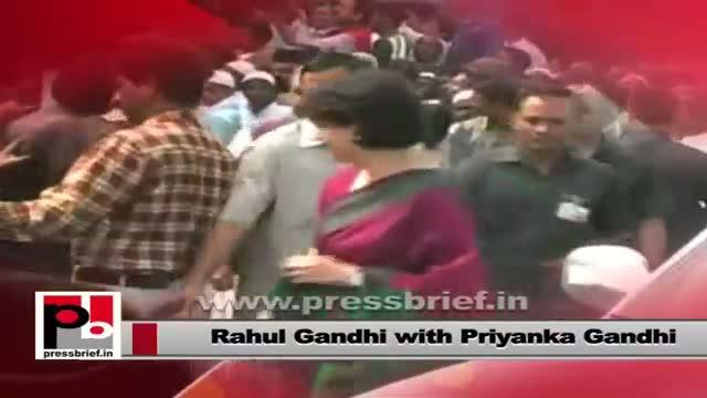Rahul Gandhi and Priyanka Gandhi Vadra - favourite leaders of common people