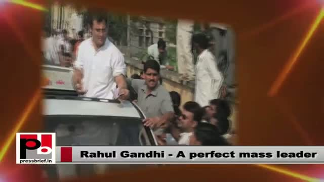 Rahul Gandhi - a very progressive and farsighted leader