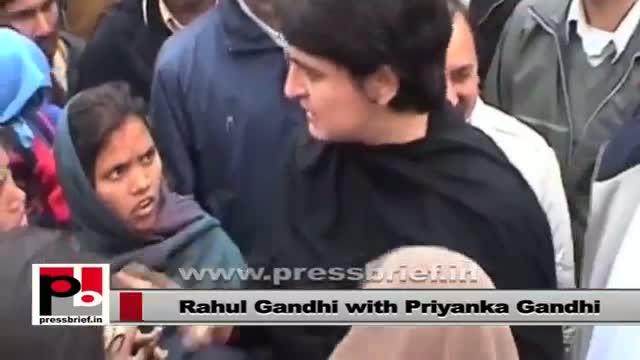 Rahul Gandhi and Priyanka Gandhi Vadra - favourite leaders of the common people