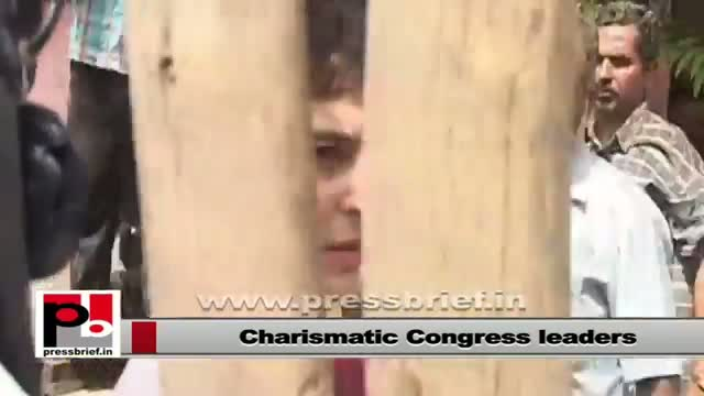 Sonia Gandhi, Rahul Gandhi and Priyanka Gandhi Vadra - Charismatic mass leaders
