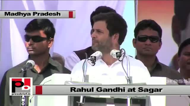 Rahul Gandhi: BJP's politics is politics of bureaucrats