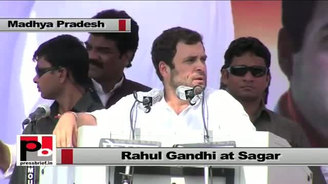 Rahul Gandhi : Why 'India-shining' missed the Bundelkhand?