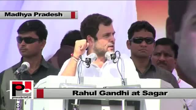 Rahul Gandhi: Congress talks about develop as well as to strength the masses