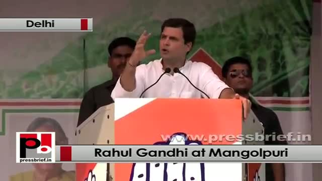Rahul Gandhi: The one who fights and helps the weaker section is a Congressman