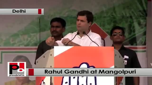 Rahul Gandhi : CM Sheila Dixit and Congress has changed the face of Delhi