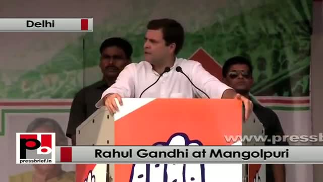 Rahul Gandhi: We have talked about the rights whether its right of education, right of employment