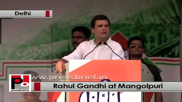 Rahul Gandhi : We have come to you and ask what do you want and do it your way