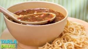 Manchow Soup by Tarla Dalal