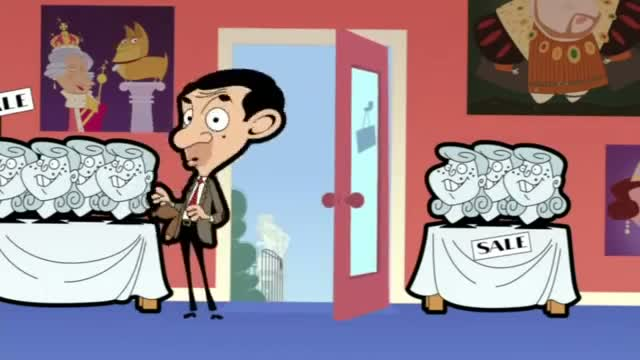 Mr Bean the Animated Series - Mr. Bean - Royal Bean: In Buckingham Palace