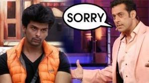 Bigg boss 7 UNSEEN Footage : SHOCKING Salman Khan APOLOGIZES to Kushal Tandon