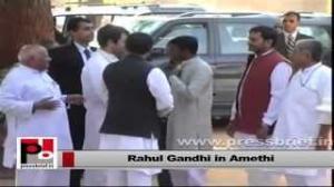 Rahul Gandhi's Amethi visit