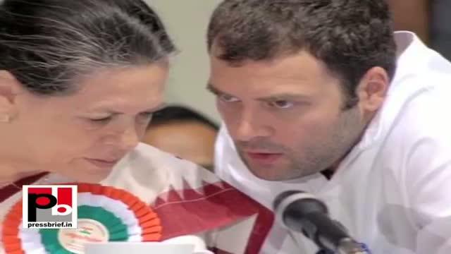 Sonia and Rahul Gandhi the two iron pillars of India