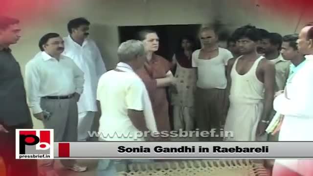 Sonia Gandhi: Poor people is always a priority