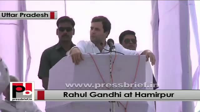 Rahul Gandhi : I want development to come in Bundelkhand
