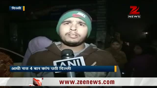 Two earthquakes felt in Delhi-NCR