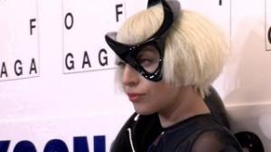 Lady Gaga Unveils Flying Dress