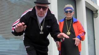 Elderly White Couple Tries To Rap, Actually Pulls It Off