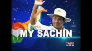 Sachin Tendulkar takes guard in final Test