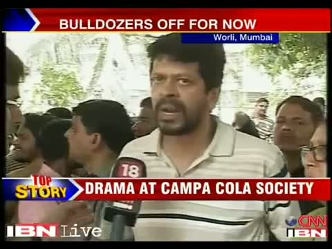 Drama at campa cola society ends as court stays demolition order