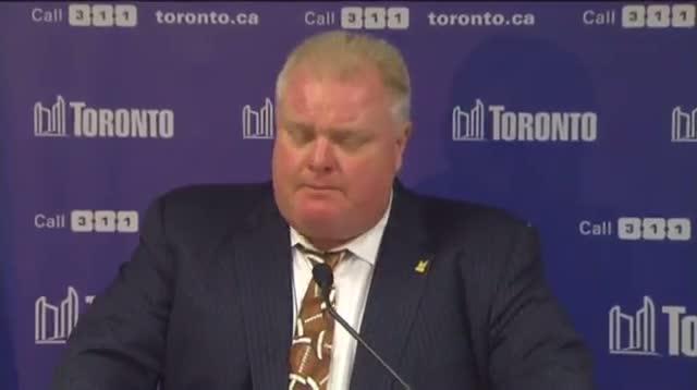Toronto Mayor Apologizes for Obscenity on TV