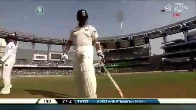 Sachin Tendulkar's 200th Last Test Match Entry Honor Wankhede stadiumIndia vs West Indies 2013