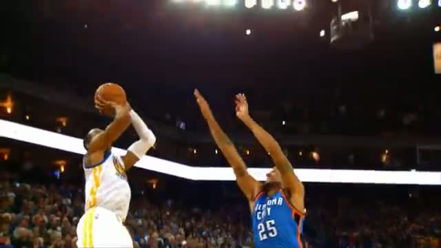 NBA: Russell Westbrook and Andre Iguodala's Clutch Shots in Slow-Mo