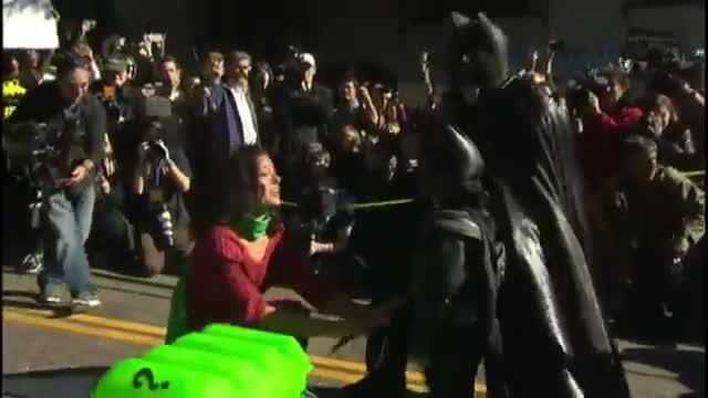 Ker-pow! Batkid becomes Gotham City hero for a day.