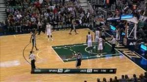 NBA: Tony Parker Hits the AMAZING Layup and Draws the Foul