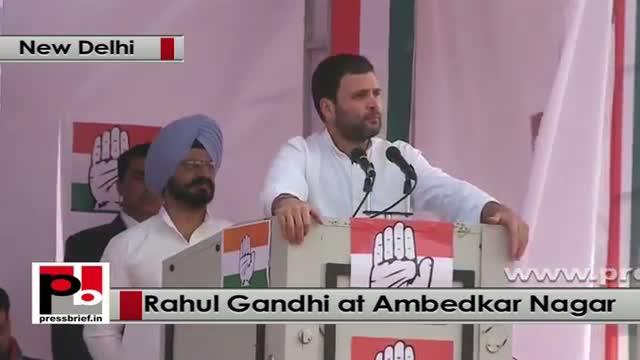 Congress Vice President Rahul Gandhi in Ambedkar Nagar