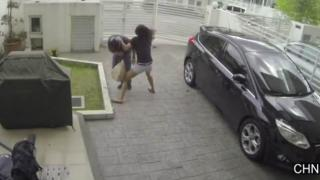 Girl Fights Back After Thief Tries To Steal Her Purse