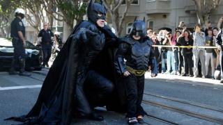 "SF Morphs Into Gotham City for ""Batkid"" Battling Leukemia"