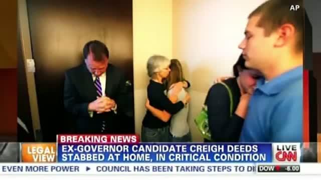 Creigh Deeds in critical condition after home assault [son dead] - Virginia Senator Stabbed