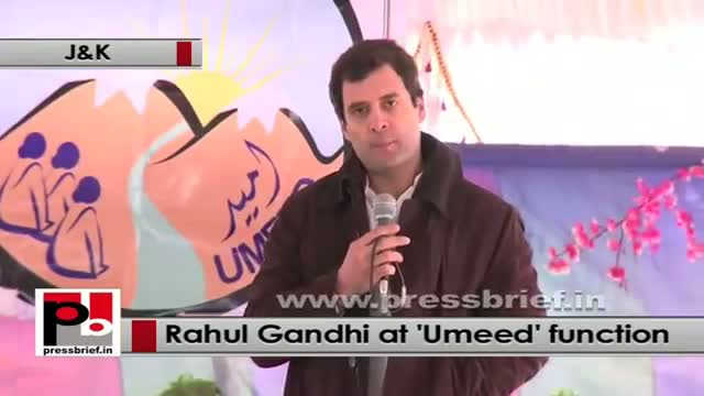 "Rahul Gandhi : ""Umeed"" will be a new ray of hope for the women"
