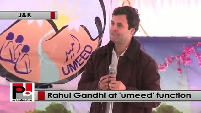 Rahul Gandhi : J&K women should come forward to run the state