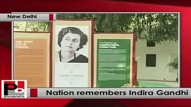 Sonia Gandhi, Rahul Gandhi pay tribute to Indira Gandhi on her 96th birth anniversary