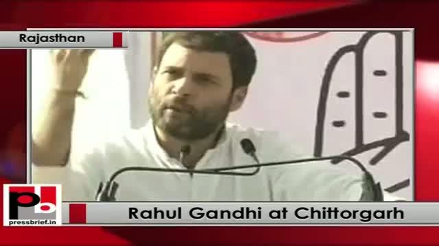 Rahul Gandhi at Chittorgarh (Rajasthan)