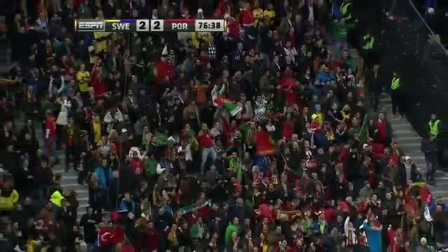 Ronaldo's EPIC Hat Trick Sends Portugal to 2014 World Cup