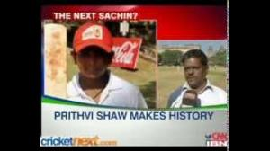 15-year-old Prithvi Shaw slams 546 in Harris Shield