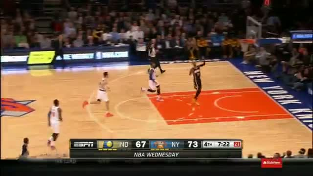 NBA: Paul George Outduels Carmelo Anthony at MSG