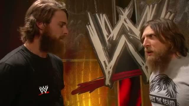 Daniel Bryan SHAVES Josh Reddick's beard - Beard Off 2013