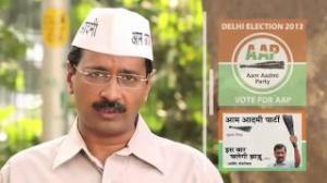 Delhi supports Aam Aadmi Party -Arvind kejriwal