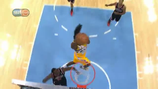 NBA: Ty Lawson Lobs it From Beyond Halfcourt to Kenneth Faried
